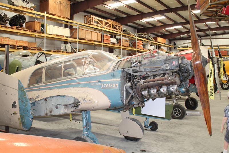 Fantasy of Flight update on the restoration of theBf-108