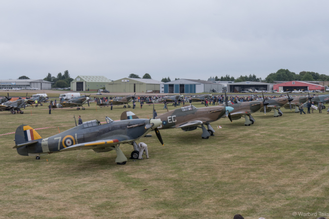 Five Hurricanes were amongst the many highlights of the day.