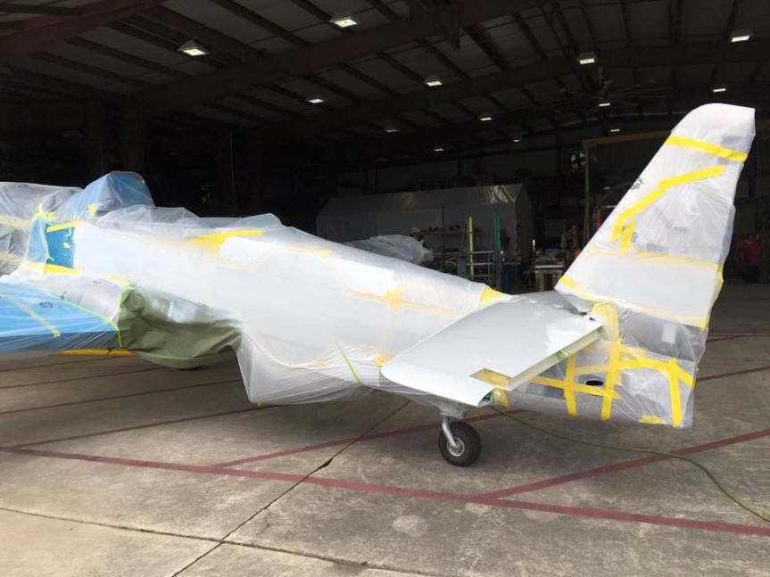 P-51 to be painted