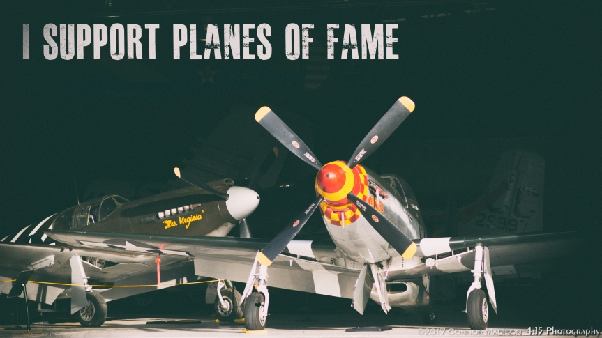 Planes of Fame support post