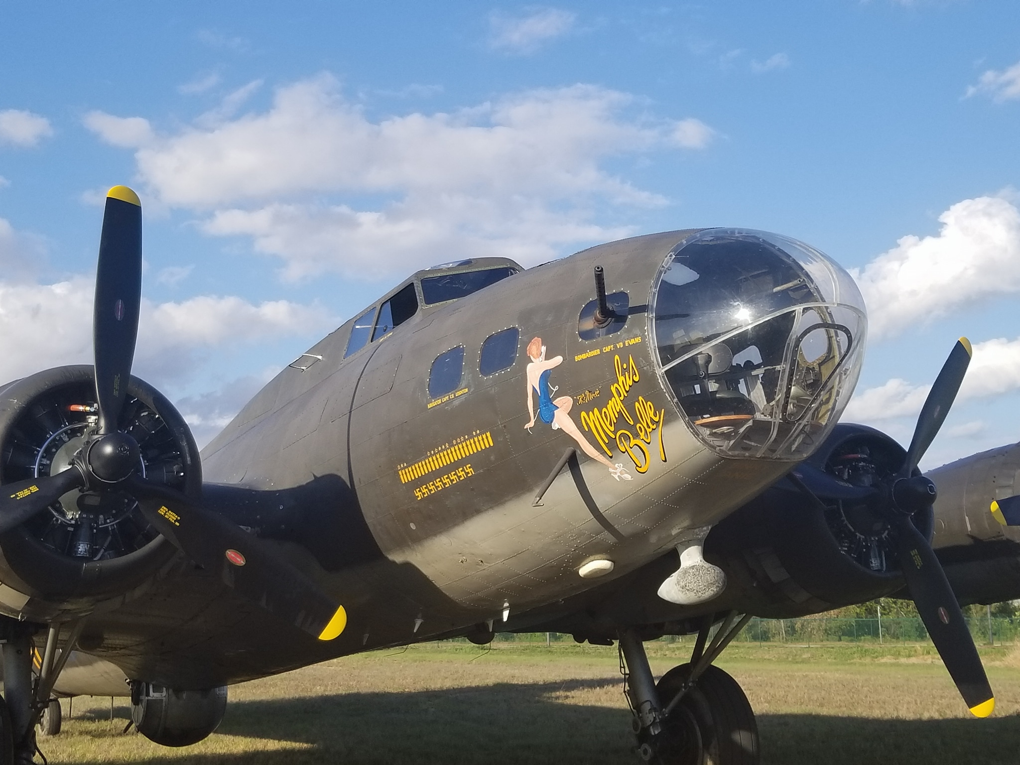 Memphis Belle Aircraft Signed Picture
