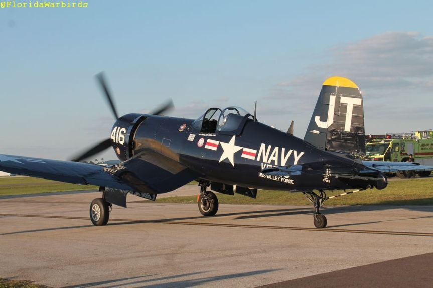 "Sun N Fun 2020 Warbird Announcement: Class of 45; F4U-4 Corsair ""Korean War Hero"" and P-51 ""Quicksilver"""