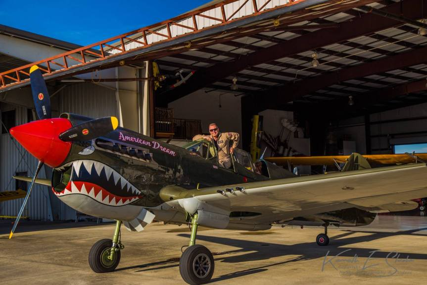 TP-40N at Warbird Adventures in Kissimmee for training