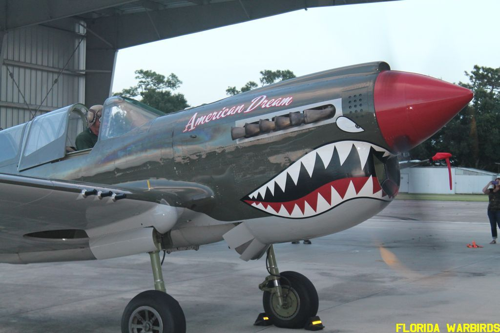 "Introduction of TP-40N ""American Dream"" at Warbirds Adventures"