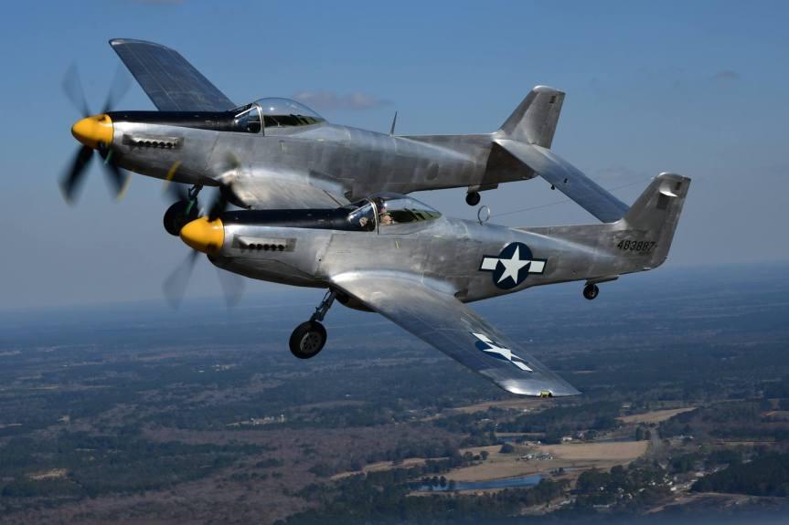 3G Aviation Air-to-Air with the XP-82 at Sun N Fun2019
