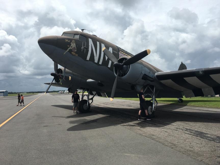 """Vintage Aero C-47 """"Hit andMiss"""""""