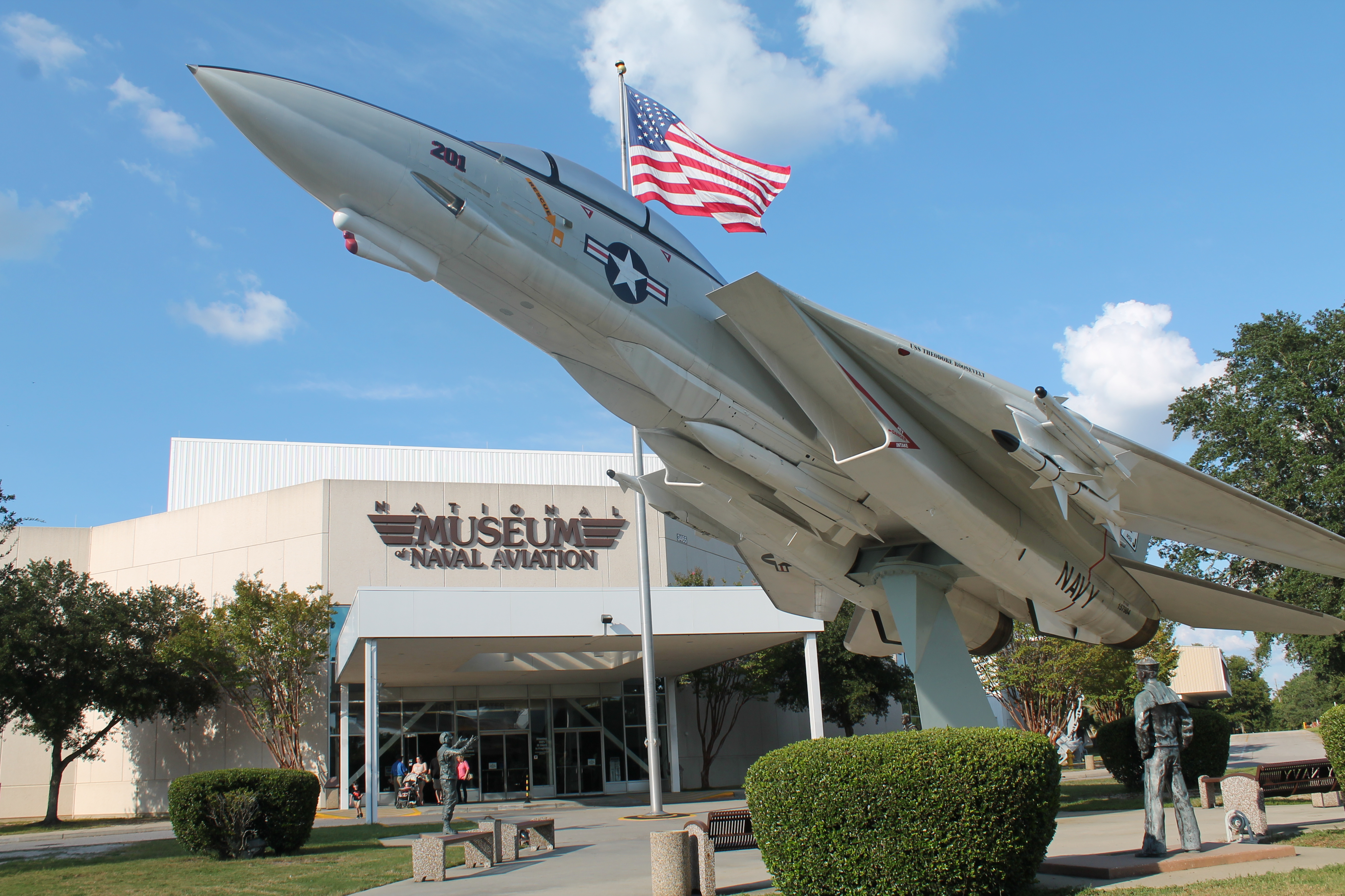 National Naval Aviation Museum has a Phase 1 reopening.