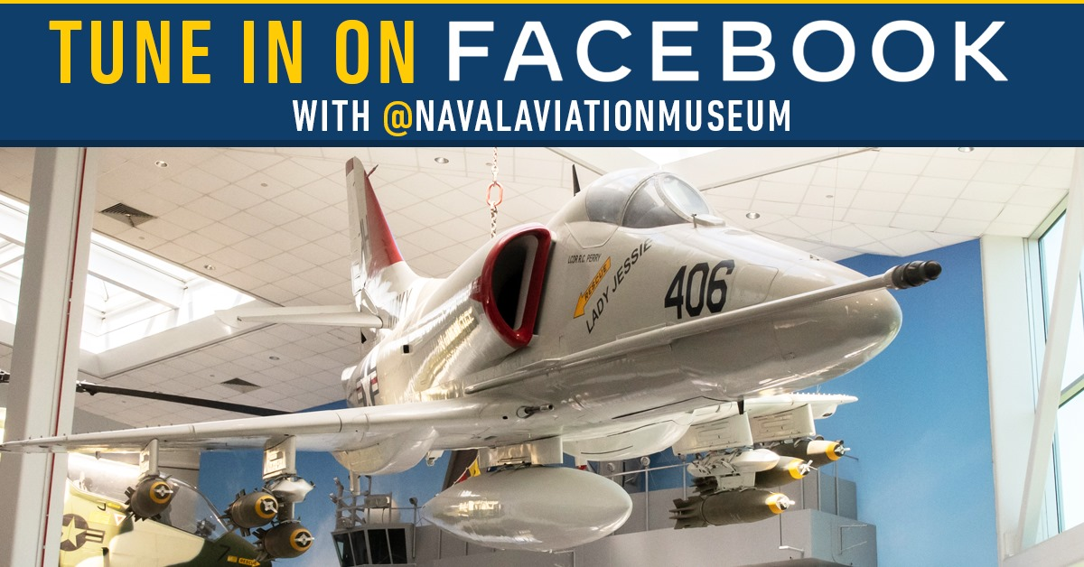 National Naval Aviation Museum Live event, tour of the QuarterDeck