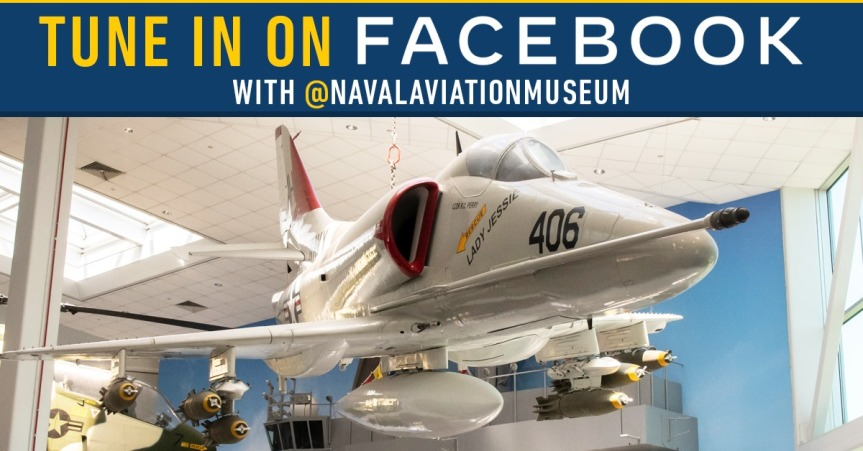 National Naval Aviation Museum Live event, tour of theQuarterDeck