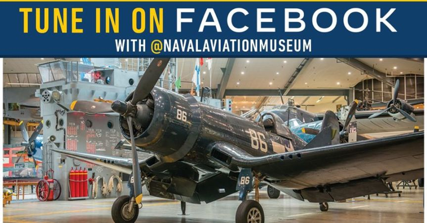 National Naval Aviation Museum Live event, History Up Close, F4UCorsair