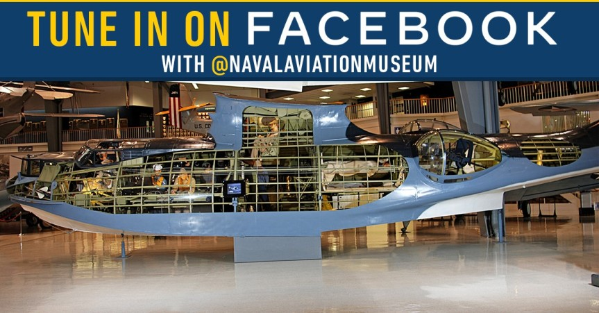 National Naval Aviation Museum Live event, History Up Close, PBY Catalina