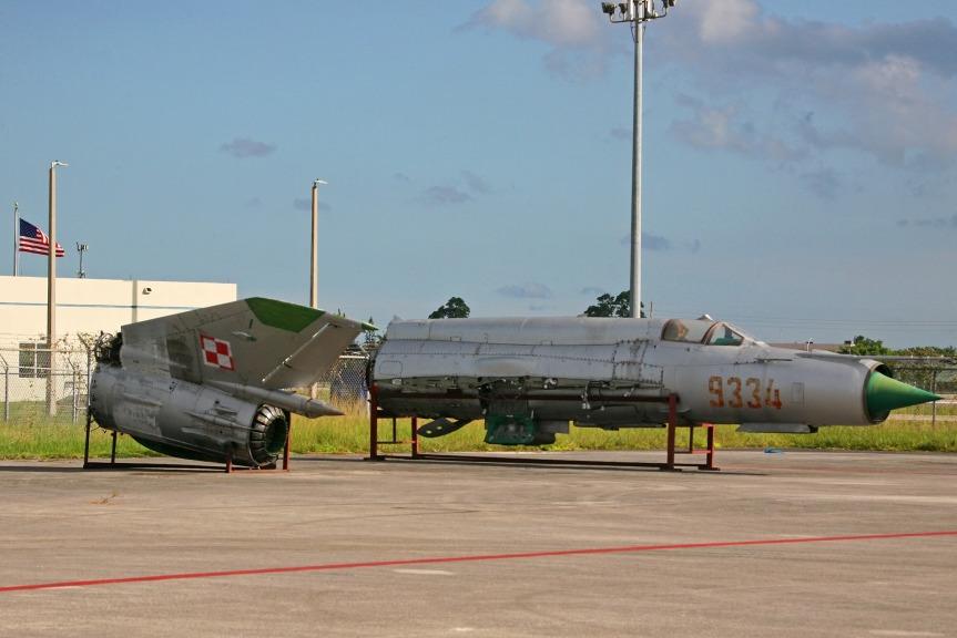 Mig-21 in Miami