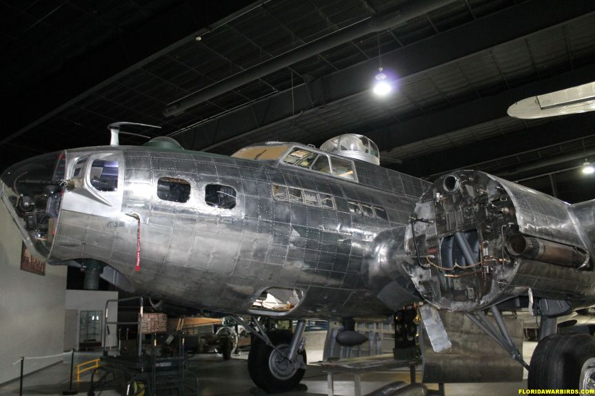 Museum of Aviation B-17 restoration at Warner-Robins AFB