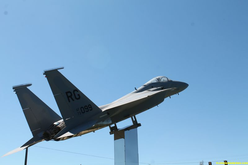 Museum of Aviation's F-15