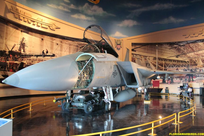 Museum of Aviation, Fighters