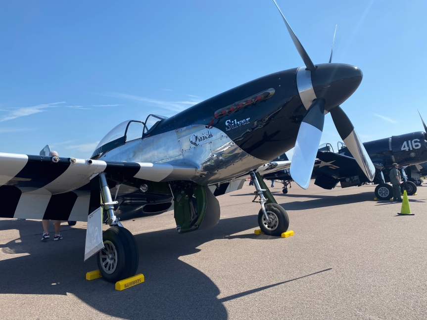 """P-51 """"Quicksilver"""" at the Orlando Air and Space Show, 16-17October"""
